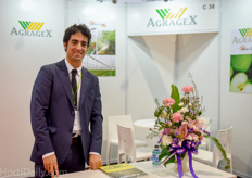 Juan Luis Arrieta of Agragex was present to promote the Spanish agricultural exporters in a small Spanish pavilion formed by ININSA, Rabita and Fertival.