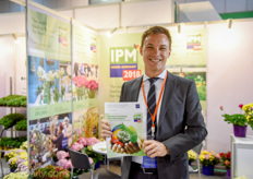 Torben Brinkmann was once again promoting the IPM Essen.