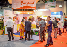 Dutch vegetable seed breeder Enza Zaden was once again represented by their Thai distributor HortiGrow.