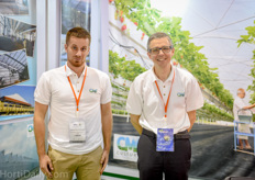 Felix Chassouant and Renaud Josse of CMF. The French greenhouse builder is increasing its presence in Asia Pacific and recently completed several high tech projects.