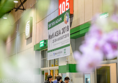 The next edition Horti Asia is slated for 22-24 August, 2018?
