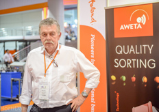 Rin Alleblas of Aweta is retired, but still can not resist to travel and develop new export markets.