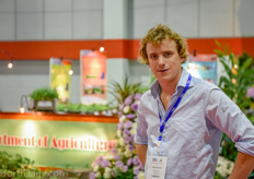 Frank Scholten of Chrysal Asia Pacific was visiting his Southeast Asian customers and distributors at the show.