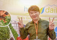 Roger Luo represents the Dutch Greentech exhibition in Asia.