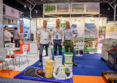 Luuk Runia, Menno Keppel and Thomas Ruiter of Agri Solutions Asia.