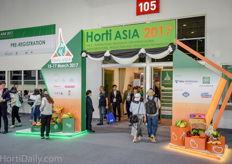 The 5th edition of the Horti Asia took again place at the Bangkok International Trade and Exhibition Centre in Bangkok, Thailand.