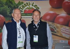 Michael Ryshouwer and Jeff Trickett with Bejo Seeds