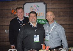 Red Sun Farms is represented by Harold Paivarinta, Ray Mason and Jim D'Amato.