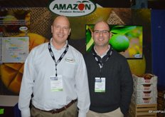 Greg Golden and Javier Leon with Amazon Produce Network