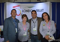 The team of London Fruit, from left to right: Michael Stewart, Cindy Swanberg Schwing, Mario Cardenas and Monica Izaguirre.