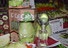 Babe Farms won the finalist innovation award for its CaliCabbage. It's a complete salad kit that includes honey cone cabbage, dressing, seasoning and croutons.