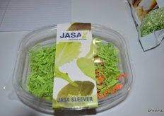 Volm Companies is distributor of Jasa equipment. The latest technology is the Jasa sleever that wraps a sleeve around the package.