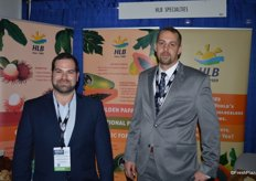 Rubens Zylberkan and Michael Napolitano with HLB Specialties.