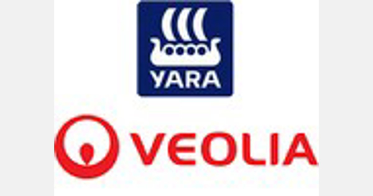 Veolia and Yara partner to recycle nutrients