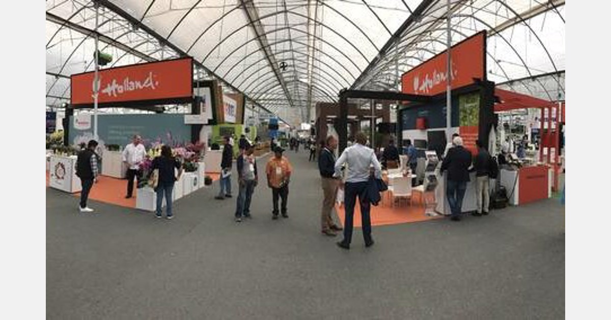 Mexico Dutch Pavilion At Expo Agroalimentaria Guanajuato