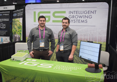 Vincent Bernier Antoine Bernier with Intelligent Growing Systems, providing solutions to various crops.
