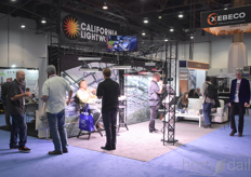 California LightWorks, a U.S. manufacturer of LED horticultural lighting, was present at the show.