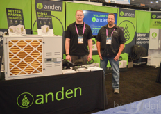 Nick Salzwedel and Randy Lenz of Anden