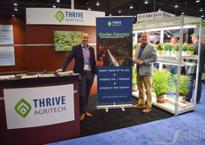 Jay Marshall and Brian Bennett of Thrive Agritech