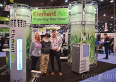 Element Air- Todd Statzer, Robin Broderick and Mat Charles