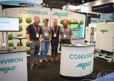 Rico Gara, Justin Jacobs, Rob Sorba and Marc Paynter of Argus Controls and Conviron