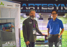 Tom McClellan and Andy Nguyen of Artesyn/Thrive Energy