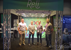 Michael Parker, Mike Grudzien, Ashley Love and Phil Morton of Reli Growsystem