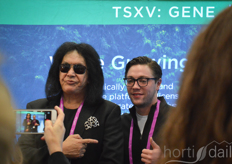 Gene Simmons promoting a partnership organization, Invictus MD Systems.