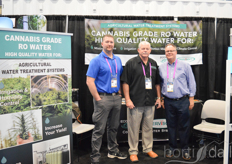 Nick Hall, Dennis Hall and Scott Seefeld of Ecowater