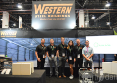 Steve Sarrell, Brian Kimbre, Mark Blume, Rene Baily, Afran Meister and Michael Gambino of Western Steel Buildings