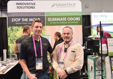 Mike D ambra with Ken Harouff of Innovation Solutions/Green Tech(Air Purification)
