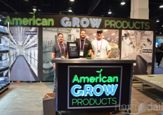 Frank Howa, Jesse Burnett and Scott Barnett with American Grow Products