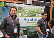 Wesley Morrell of BluePlanet Labs/AquaClean(plant growth through probiotics)