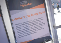 Although smelling might have told you differently every now and then, cannabis use was prohibited at the MJBizCon.