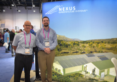 Paul Golden Greg Ellis with Nexus Greenhouse Systems