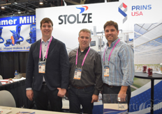 Jelle Boeters and Theo Stolze with Stolze Agro Int, sharing a booth with Jason Kamphuis with Prins USA and unitedly offering turn-key solutions to the industry.