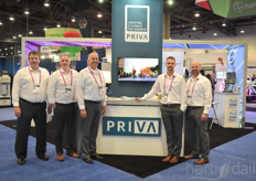 Priva was present at the show. These are the early birds - being there from the moment the doors opened, even on Thursday.