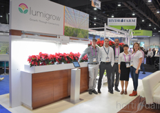 Of course Lumigrow is exhibiting as well.