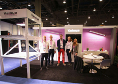 The Valoya team: Nemanja Rodic, Marketing Manager, Rabbe Ringbom, VP Sales and Marketing, Lars Aikala, CEO, Stefanie Linzer, Biologist and Erin Sharp, Business Development Director for North America