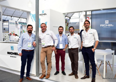 The team of French greenhouse manufacturer Richel. They are already present in Mexico since 1993 and established a local operation in 2014. From 2000, they have seen the horticultural industry in Mexico growing rapidly.