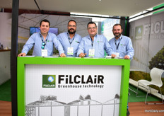 The team of greenhouse constructor FiLCLAir. They currently sell in over 60 countries and is supplying the Mexican growers for about 12 years now. Recently, they sold 5 ha in the Agroparkand over there, they now have 23 ha it total.