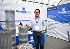 Cesar Hernandez of Republic Steel Wire Mexico. This brand was launched last year and the founder of it is Grupo San.