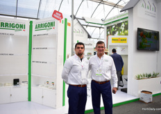 Leonardo Ledesma and Ricardo Martinez of Asesores en invernaderos. They are dealers of several (around 17) international companies and can supply everything from a complete greenhouse with all the supplies, packaging and technical maintenance.