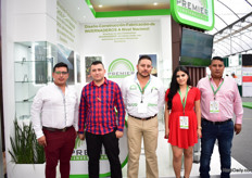 The team of Premier Invernaderos, a Mexican greenhouse supplier.