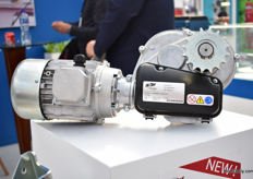 The new GMW Motor Gearbox of De Gier.