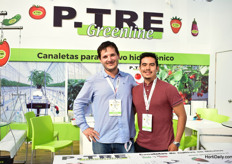 Mauro Sala and Luis Erick Hernandez of P-Tre Greenline.