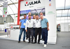 The team of Ulma, a Spanish greenhouse constructor. For them, Mexico is a big market and they have a subsidiary here.