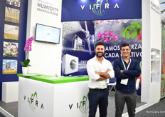 Stefano Liporace and Valerio Torelli of Vifra.