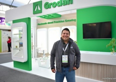 Nicolas Delon of Grodan sees the business growing every year.