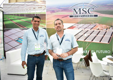 Daniel Sahagun and Raul Ruiz Valensuela of MSC.